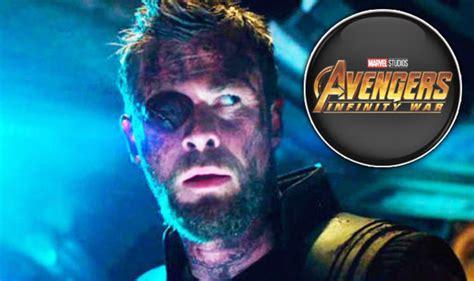 avengers infinity war proof   thor    eye
