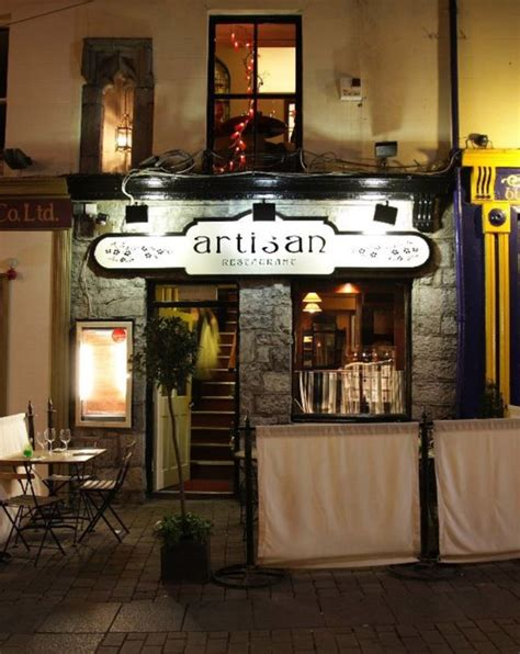 artisan cuisine artisan restaurant quay galway above tigh
