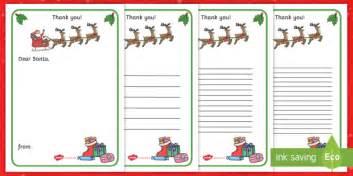 letter  santa writing template christmas letter
