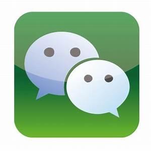 Free Vector WeChat iOS App Icon - TitanUI