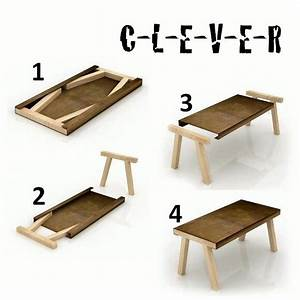 Very cool! Probably 11 pieces of wood? 5 for the table and