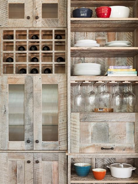pallet wood kitchen cabinets recycled cabinet doors worth the money savings 291 | Pallet wood kitchen cabinets