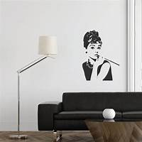 great audrey hepburn wall decals Audrey Hepburn Wall Decal | Wallboss Wall Stickers | Wall ...