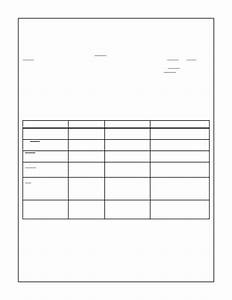 blank frequency table template With frequency table template