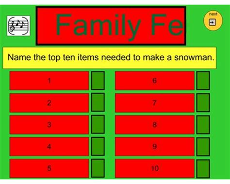 family feud template pdf free family feud templates powerpoint family feud fast money powerpoint template family feud