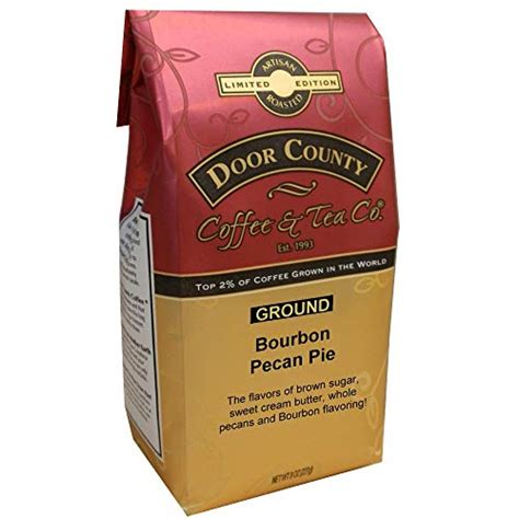 On store features, discount policies, availability of promo codes, payment methods accepted, and shipping and returns policies. Door County Coffee Limited Edition Bourbon Barrel Aged Flavored Pecan Pie 8Oz Ba 788533602556   eBay