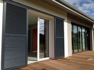 Decouvrez nos solutions de menuiserie porte de garage for Couleur exterieur maison contemporaine 8 le volet coulissant sur mesure