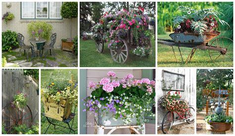 Garden Decoration by Really Inspiring Repurposing Ideas For Vintage Garden