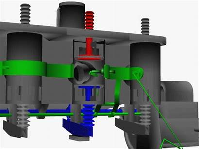 Engine Animation Electrical Aircraft Computer Wright Valves