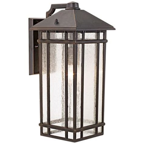 craftsman style hanging outdoor light j du j sierra craftsman 16 1 2 quot high outdoor light
