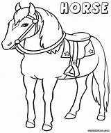 Horse Coloring Pages Sheets Circus Rocks sketch template