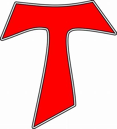 Tau Cross Clipart Clip Catholic Vector Cliparts