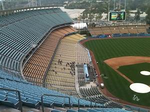 Dodger Stadium 3d Seating Chart Looking Down The Left Field Side At Dodger Stadium The