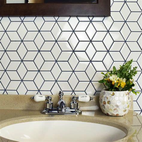 elitetile retro rhombus    porcelain mosaic