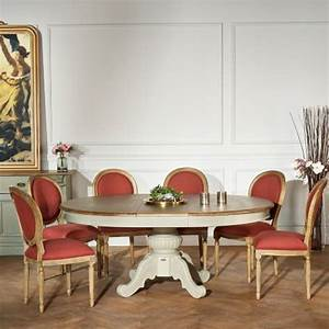 Ensemble Table Et 6 Chaises De Salle Manger Robin Des Bois