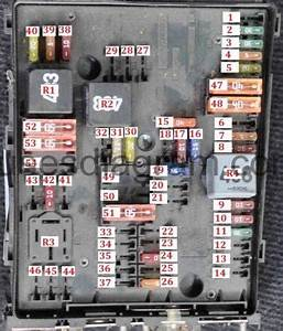 2002 Volkswagen Passat Fuse Box Location