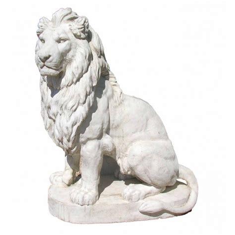 table de cuisine en fer forgé sculpture d 39 une paire de lions grande taille en