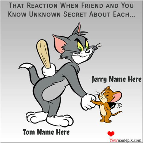 Tom Jerry Quotes