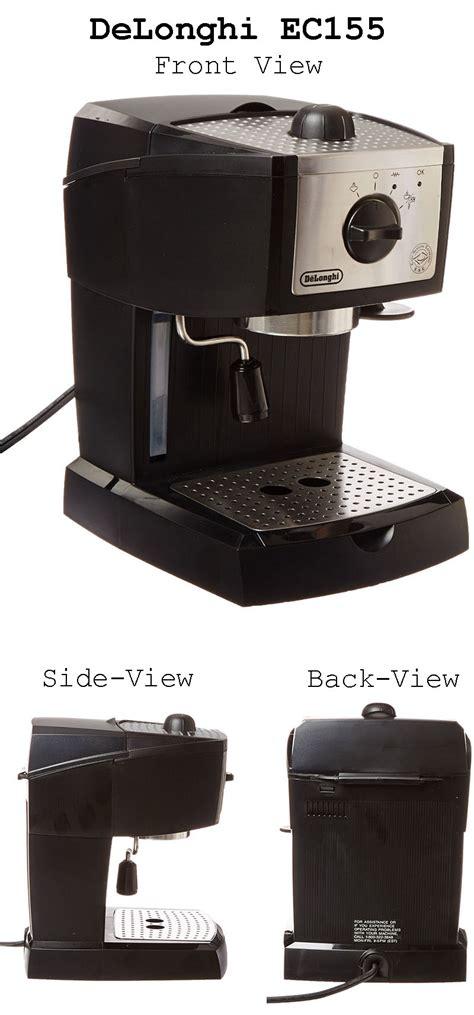 Delonghi Espresso Review by Delonghi Ec155 Espresso And Cappuccino Maker Review