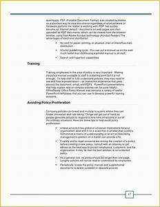 Free Office Procedures Manual Template Of Sample Fice