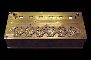 Pascal's calculator - Wikipedia