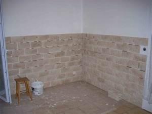 Pose Pierre De Parement : pose des pierres de parement ~ Dailycaller-alerts.com Idées de Décoration
