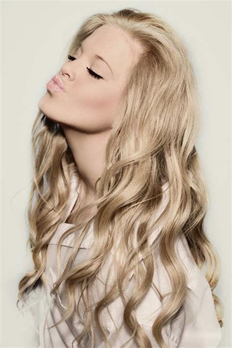 heard champagne blond hair