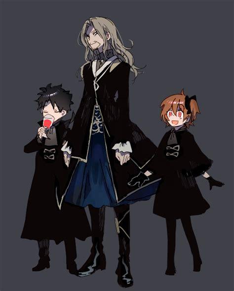 Fujimaru Ritsuka Fujimaru Ritsuka And Vlad Iii Fate And
