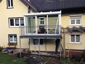 Wintergarten Mit Balkon : metallbau klein gmbh sortiment stahlbalkone ~ Orissabook.com Haus und Dekorationen