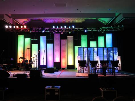 church stage designs dot banners church stage design ideas
