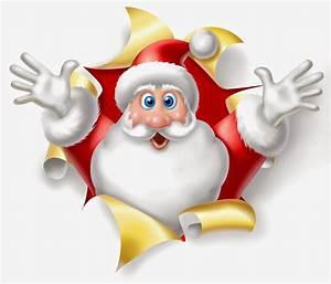 Cute Cartoon Christmas Santa