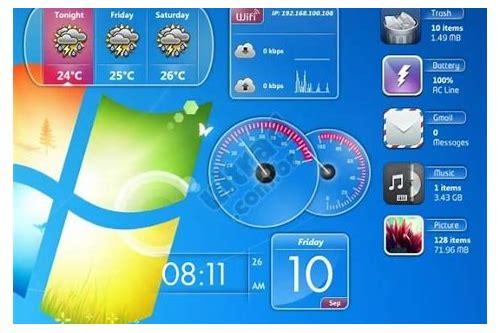 baixar gadgets do pacote do windows 7 clock