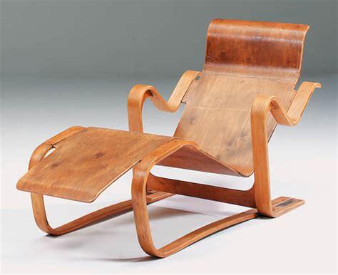 breuer stoel zitting houten chaise longue marcel breuer designstoelen org