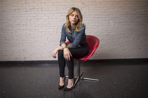 chloe grace moretz women blonde actress wallpapers hd