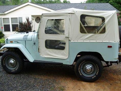 sell   toyota jeep land cruiser soft top fj