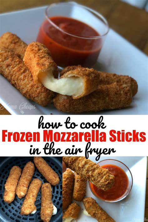 fryer air sticks mozzarella frozen cook recipes mamacheaps cooking dinner easy pork oven ninja chicken chops fryers airfryer fry cooked