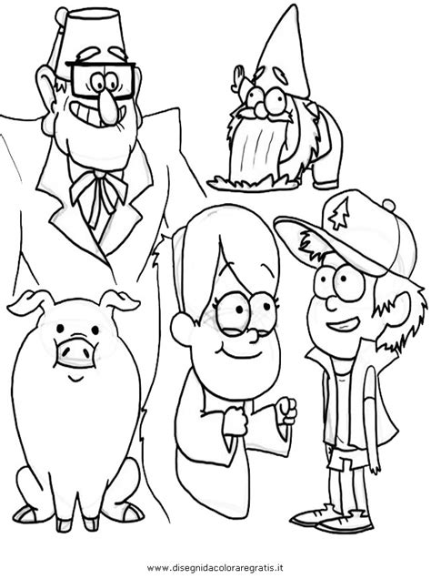 HD wallpapers gravity falls coloring page