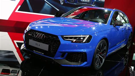 audi rs 4 fantastic 2018 audi rs4 avant blends power with practicality