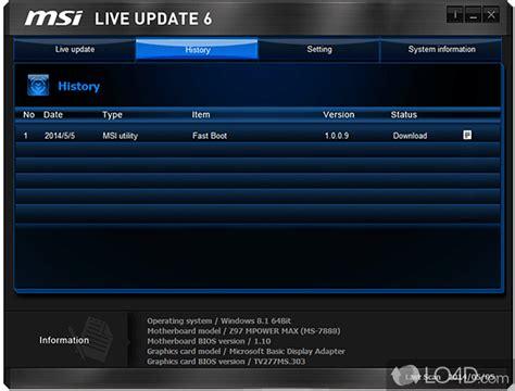 Msi Live Update