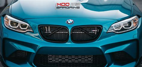 bmw m2 grill gloss black kidney grilles for 2016 bmw m2