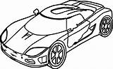 Coloring Toy Cars Pages Sports Printable Getcolorings Sheet sketch template