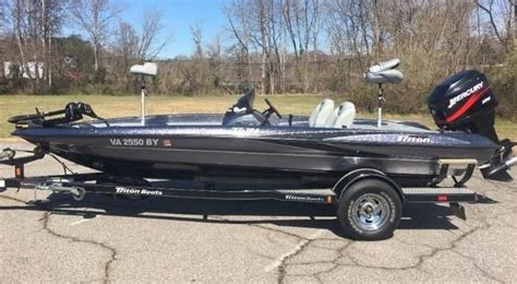 Bass Boats For Sale In Va On Craigslist by Triton New And Used Boats For Sale In Virginia