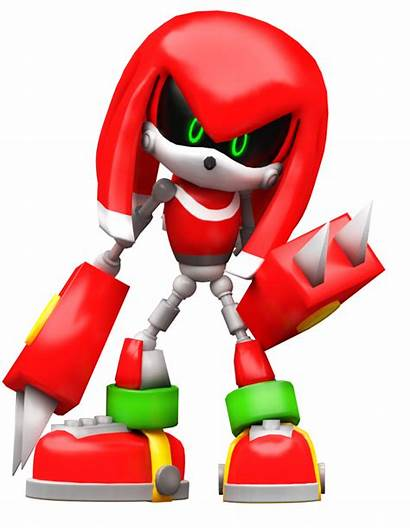 Knuckles Metal Nibroc Rock Sonic Lego Eggman