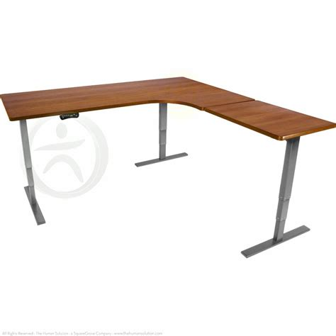 uplift standing desk shop uplift 950 height adjustable l shaped standing desks