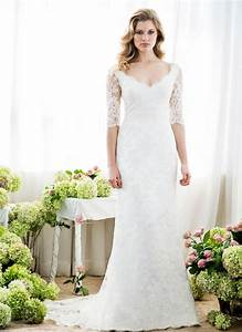 Lace sleeve wedding dress anna schimmel bridal nz for Www dress wedding