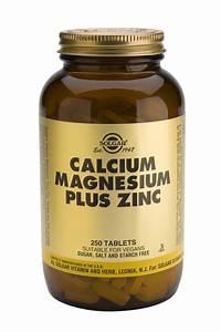 Calcium Magnesium Plus Zinc Tabletssmart Supplement Shop