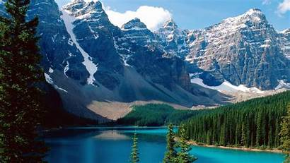 Nature Wallpapers Chilean Background Lake Moraine Chile
