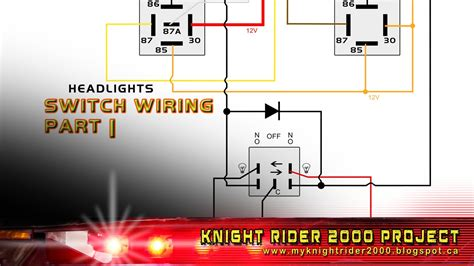 Head Parking Lights Switch Wiring Part Youtube