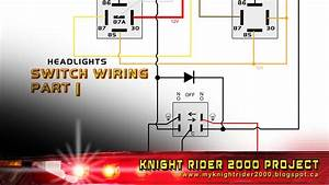 Head And Parking Lights Switch Wiring Part 01