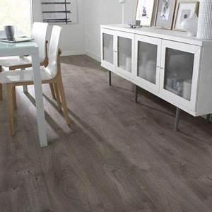 Revetement Sol Vinyl : rev tement sol pvc design oak gris 4 m castorama ~ Premium-room.com Idées de Décoration
